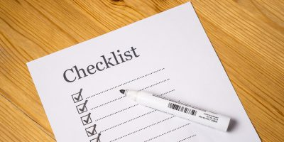checklist evenement organiseren