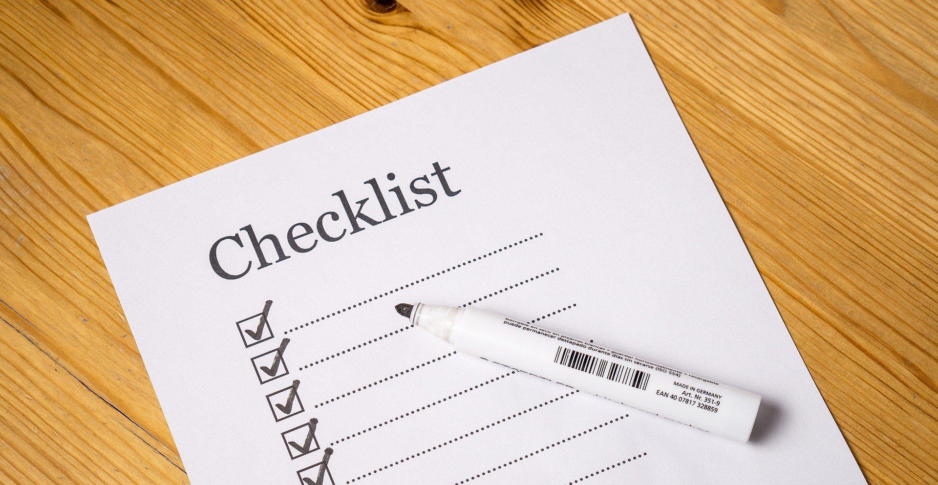 checklist evenement organiseren